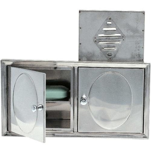 Porta Sabonete e Shampoo Conjugado p/ Embubir Moldenox