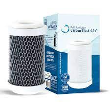 """Refil de filtro Carbon Block 4 7/8""""- Planeta Água"""