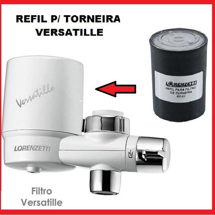 Refil Filtro Versatille  Lorenzetti RT-01