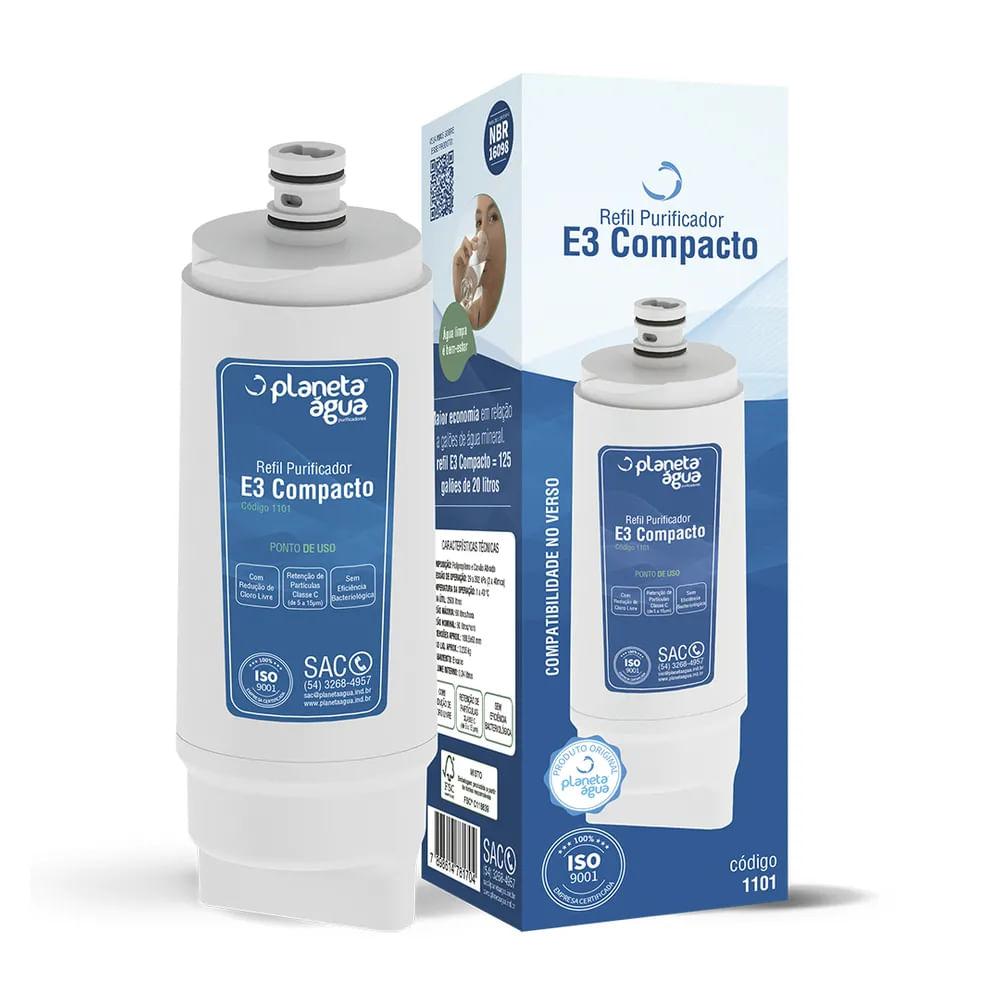 Refil para Filtro E3 Compacto - Planeta Água