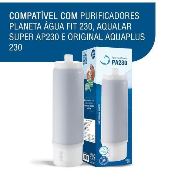 Refil Para Filtro PA230 - Planeta Água