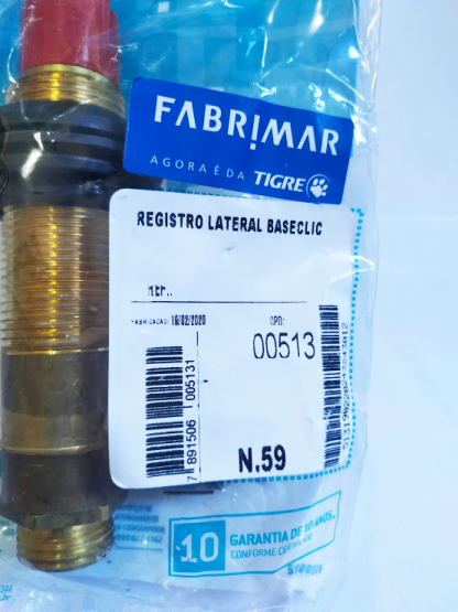 Registro Lateral Baseclic Fabrimar