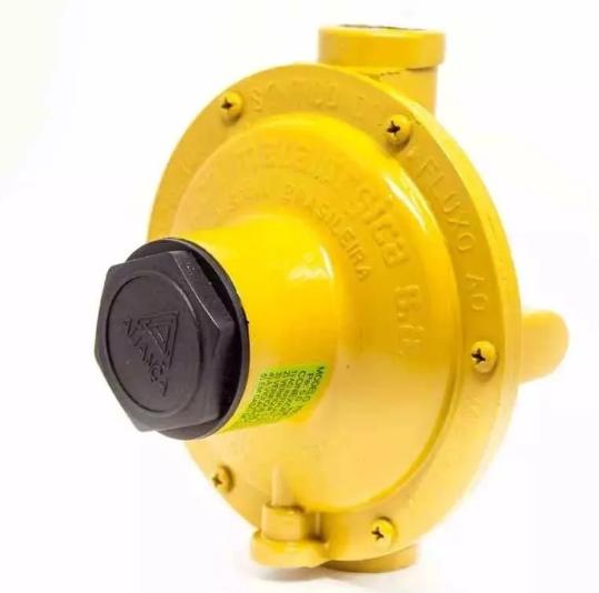 Regulador Para Gás Industrial Aliança 76511 - Amarelo