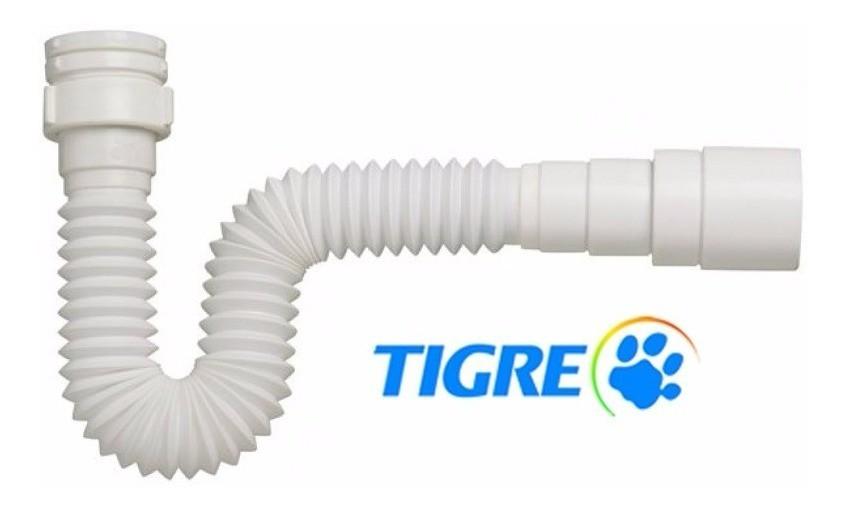 Sifão Ajustável Branco Multiuso Tigre