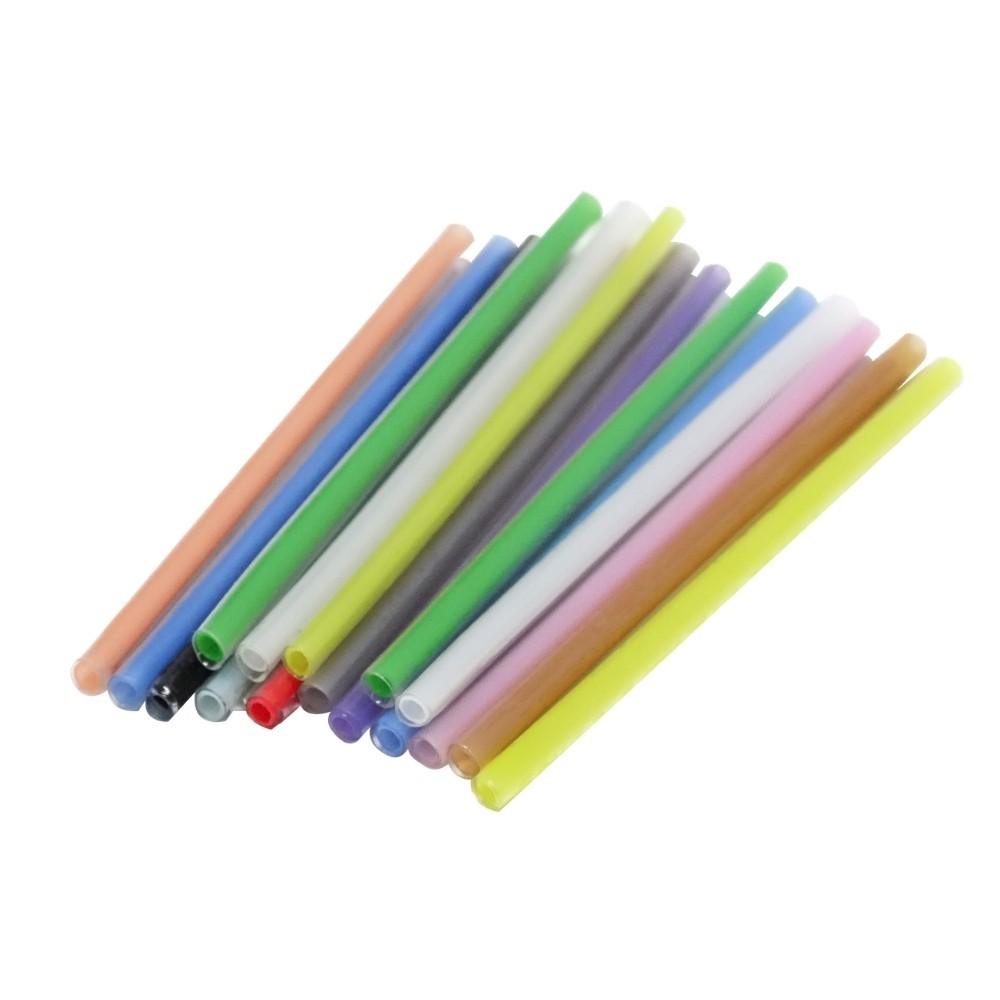 1000 Tubete Colorido p/ Proteção da Fusão Fibra Óptica TRANSCEND
