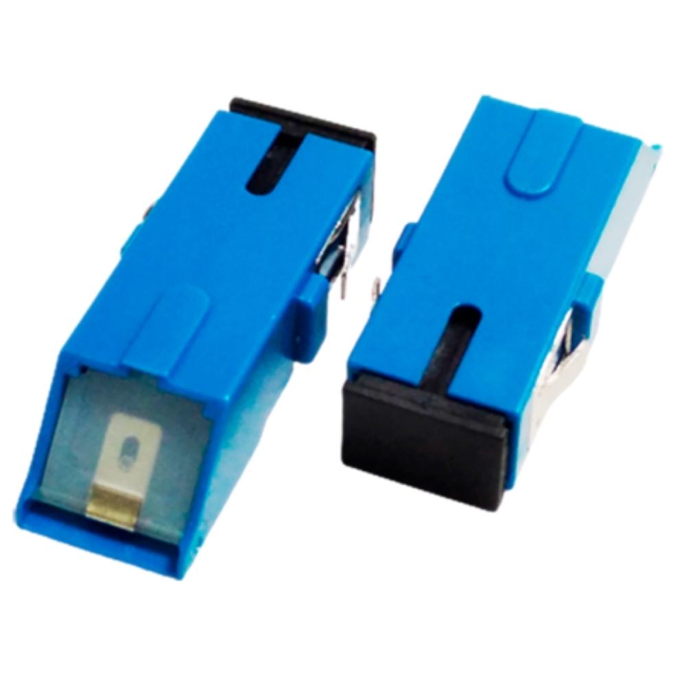 100 Adaptador Óptico SC UPC SHUTTER 2FLEX