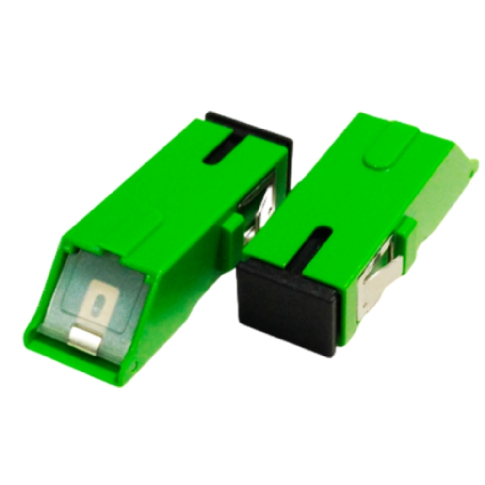 10 Adaptador Óptico SC APC SHUTTER 2FLEX
