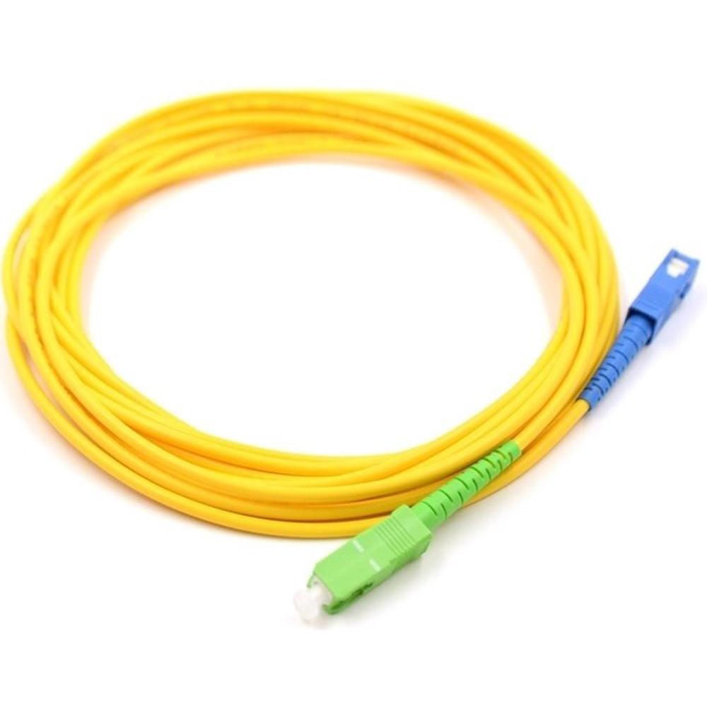 10 Cordão Óptico SIMPLEX SC APC/SC UPC 3 M SHORELINE