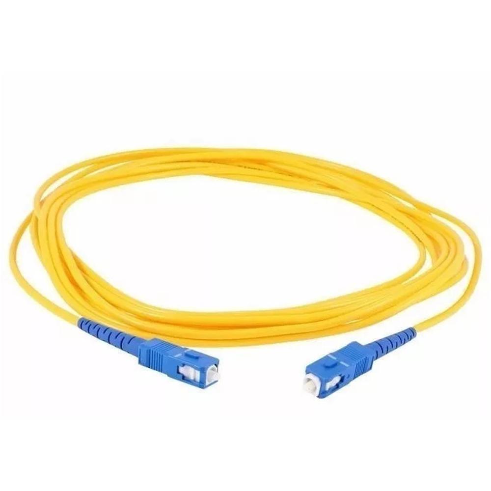 10 Cordão Óptico SIMPLEX SC UPC/SC UPC 10 M 2FLEX