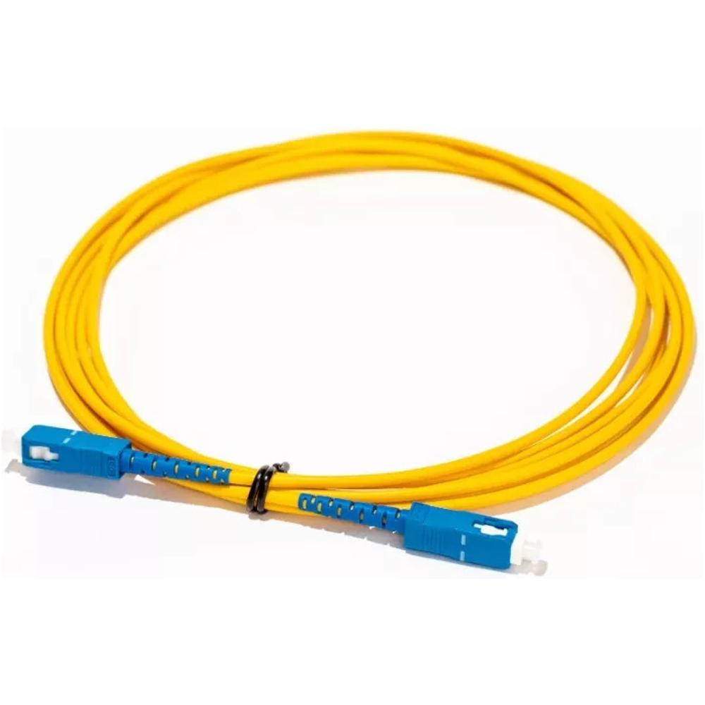 10 Cordão Óptico SIMPLEX SC UPC/SC UPC 5 M 2FLEX