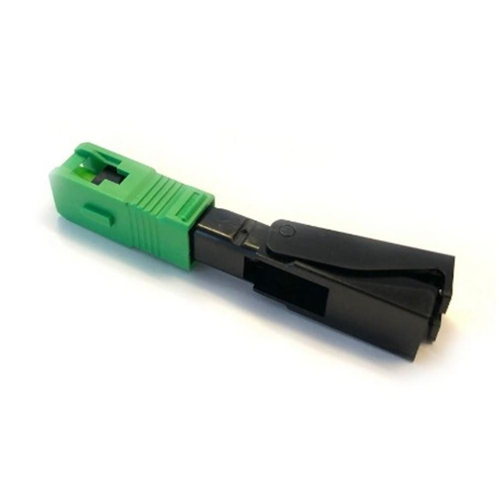 10 Conector Óptico de Campo Fast Click SC APC GALEGO
