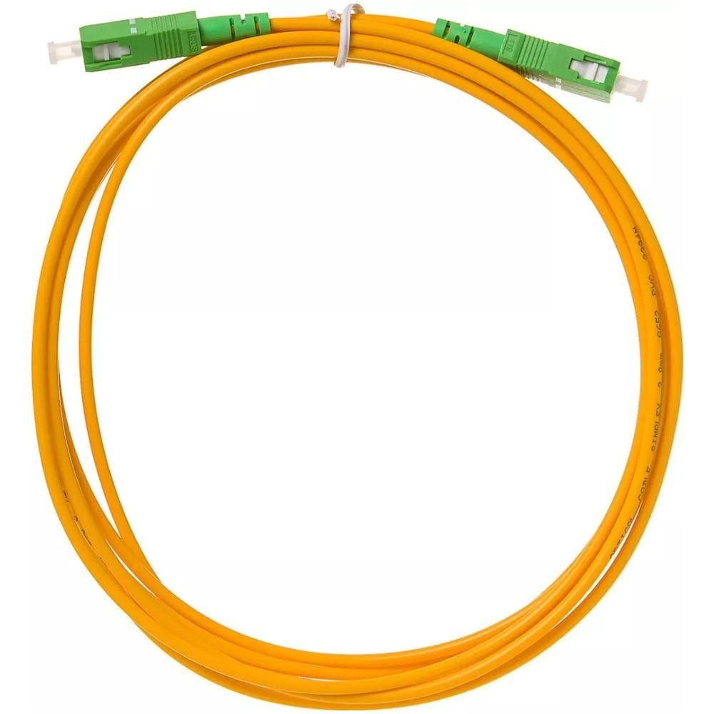 10 Cordão Óptico Patch Cord Simplex SC APC/SC APC 5 M 2FLEX