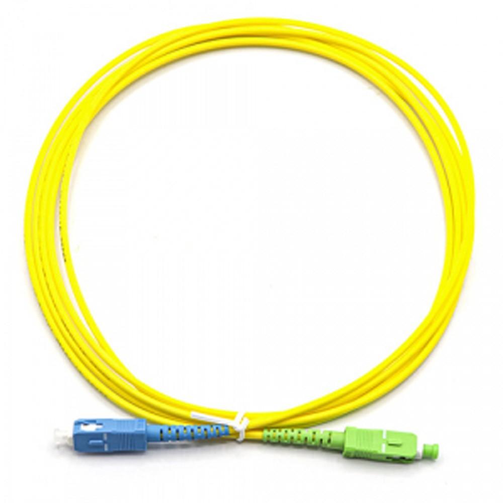 10 Cordão Óptico SC APC/SC UPC Simplex Monomodo NAZDA 0.5 M