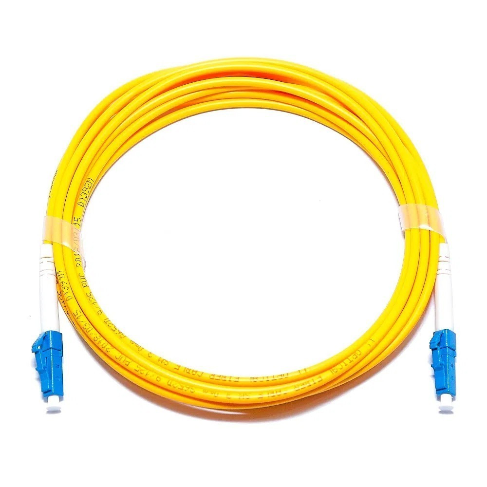 10 Cordão Óptico Simplex LC UPC/LC UPC 2M 2FLEX