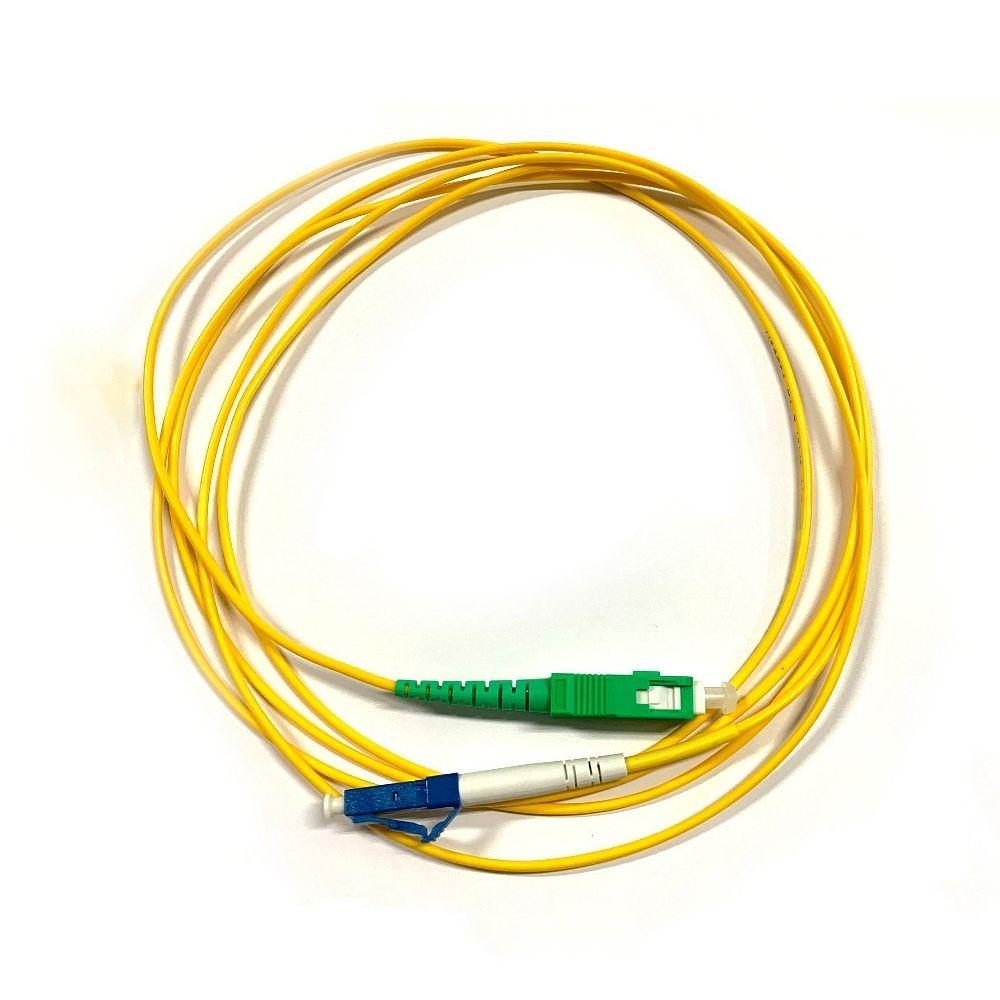 10 Cordão Óptico Simplex LC UPC/SC APC 2M 2FLEX
