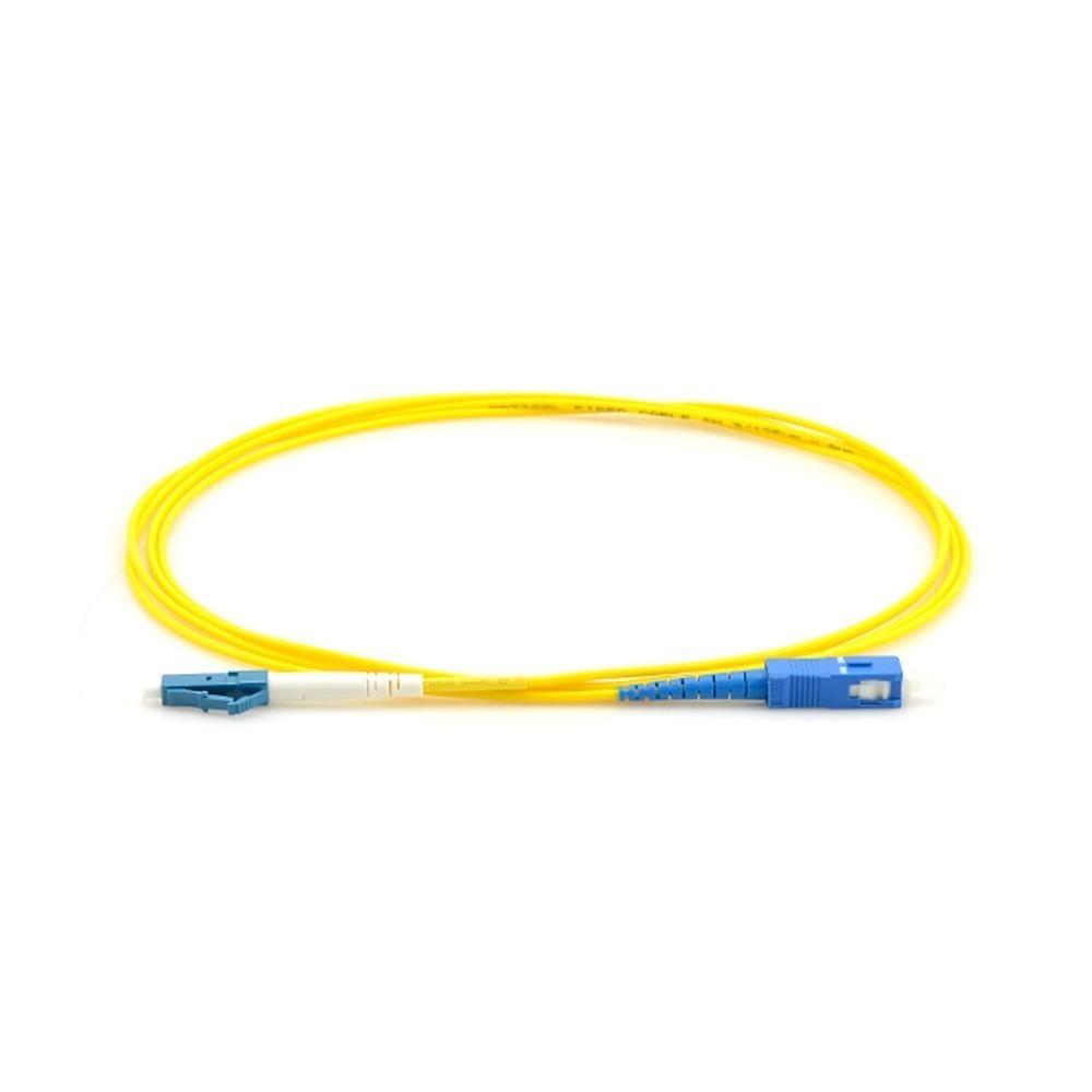 10 Cordão Óptico Simplex LC UPC/SC UPC 2M 2FLEX