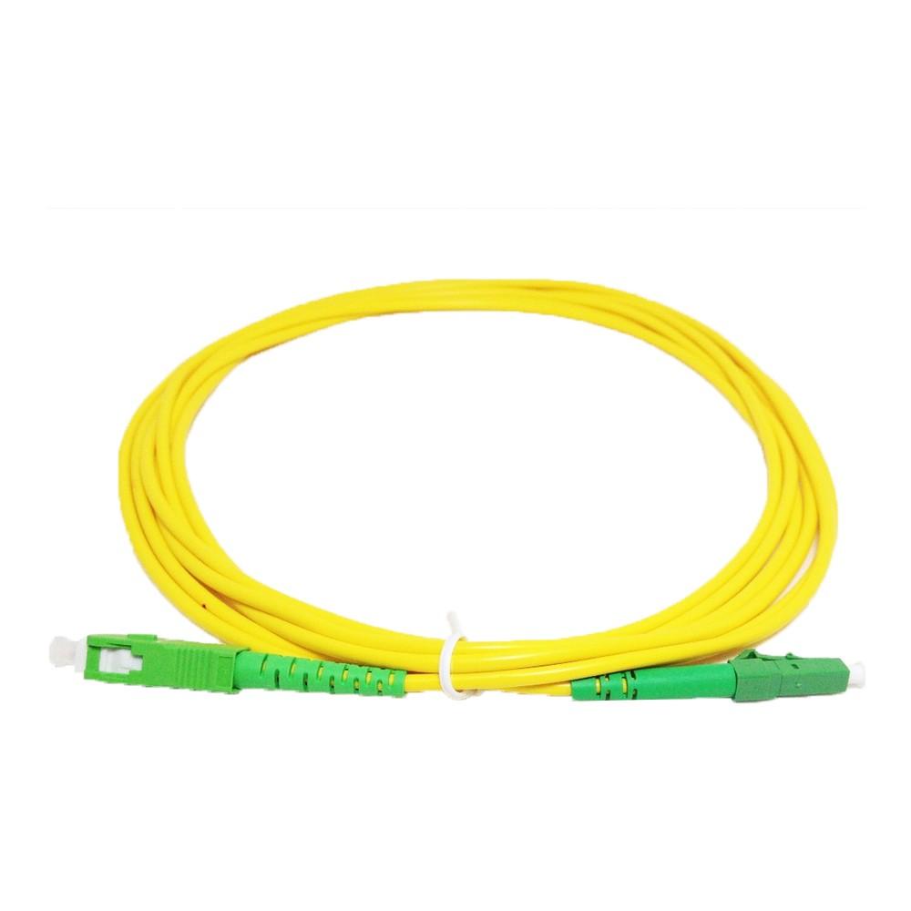 10 Cordão Óptico Simplex SC APC/LC APC 2M 2FLEX