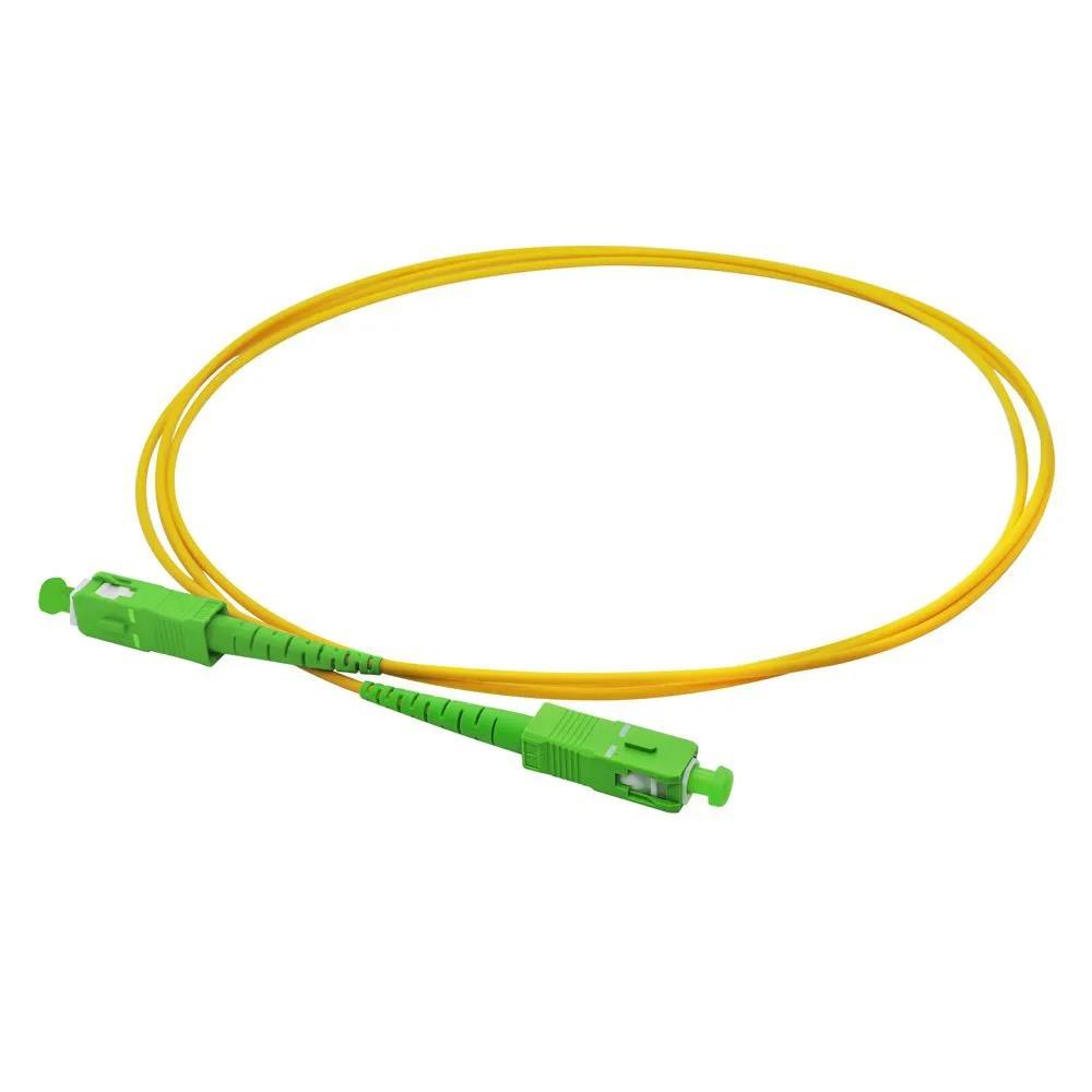 10 Cordão Óptico Simplex SC APC/SC APC 2.5 M NAZDA