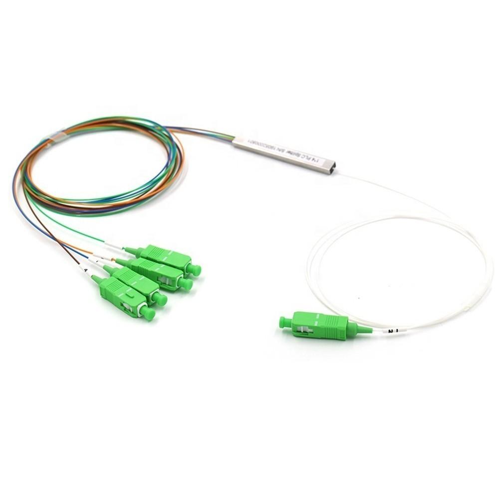 10 Splitter Óptico Balanceado Conectorizado 1x4 SC APC NETPON