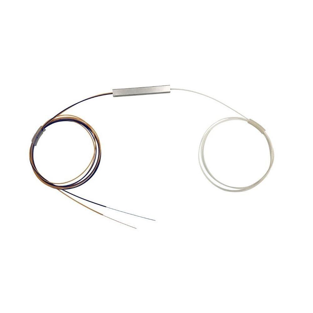 10 Splitter Óptico Balanceado Desconectorizado 1x2 NAZDA