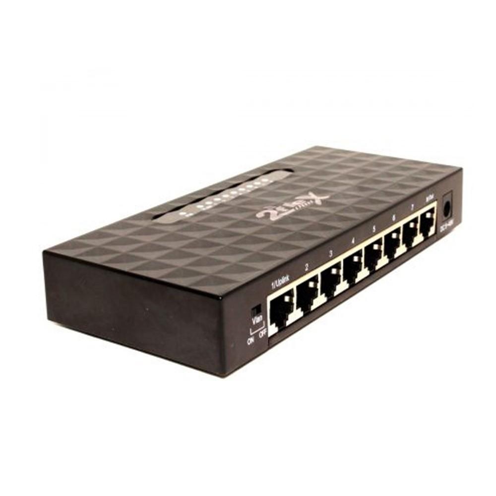 10 Switch 8 Portas PoE Reverso Fast 10/100 5 ~48 V VLAN 2F-N1008PR 2FLEX