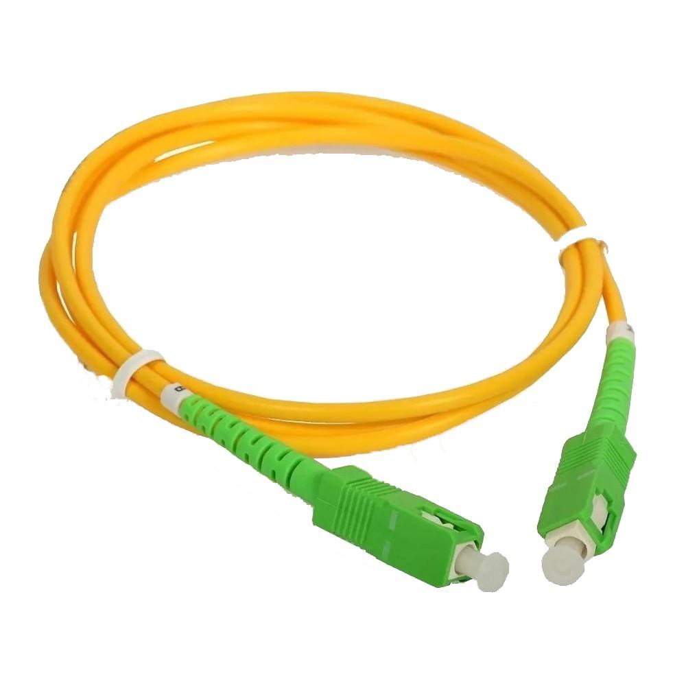 40 Cordão Óptico Patch Cord Simplex SC APC/SC APC 10 M 2FLEX