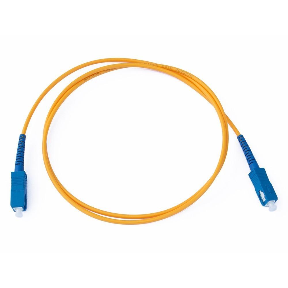 50 Cordão Óptico SC UPC/SC UPC Simplex Monomodo NAZDA 0.5 M