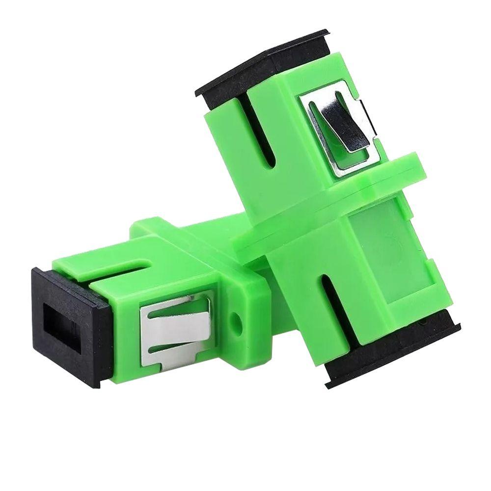 Adaptador Óptico SIMPLEX SC APC 2FLEX