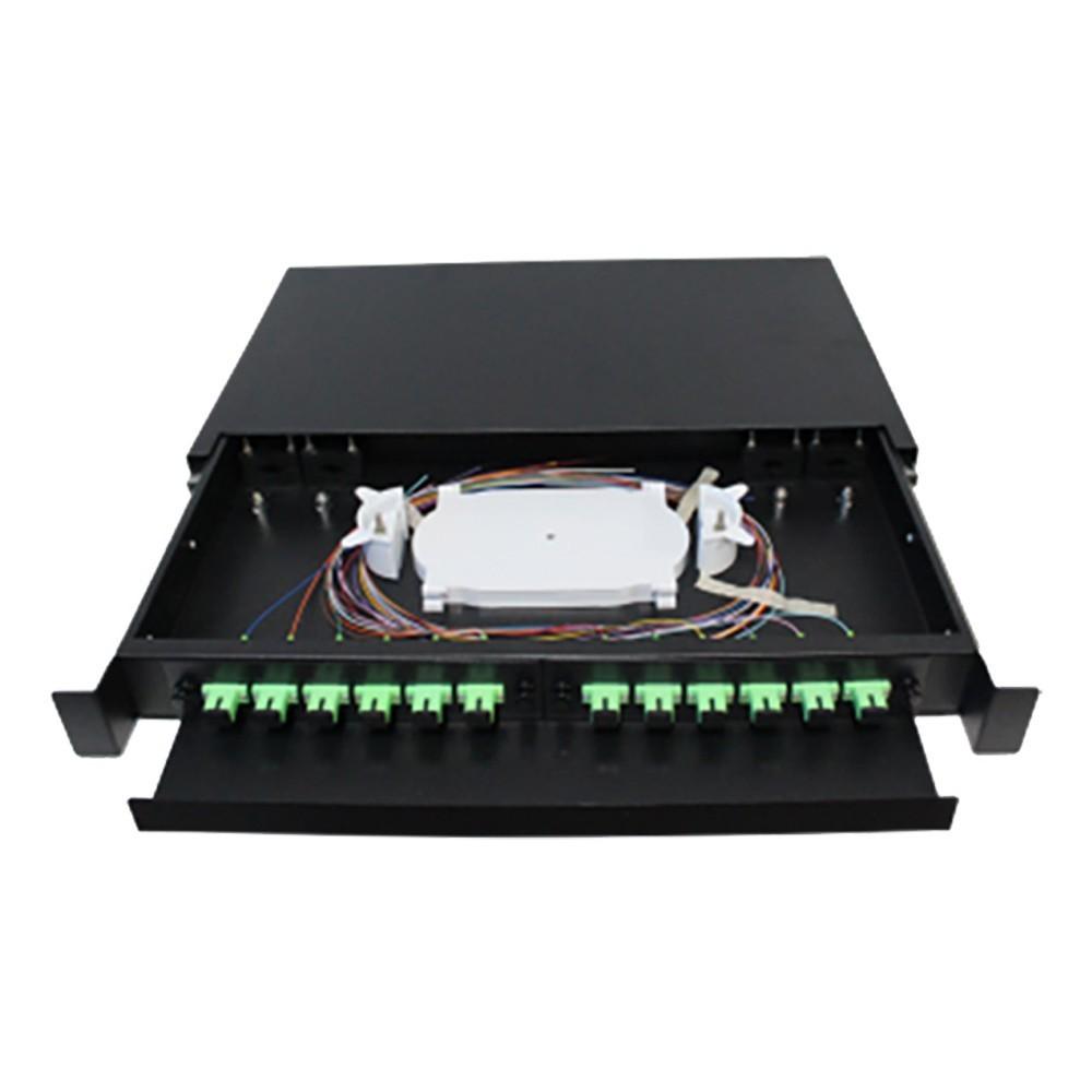 Distribuidor Interno Óptico DIO 12FO SC APC 2FLEX