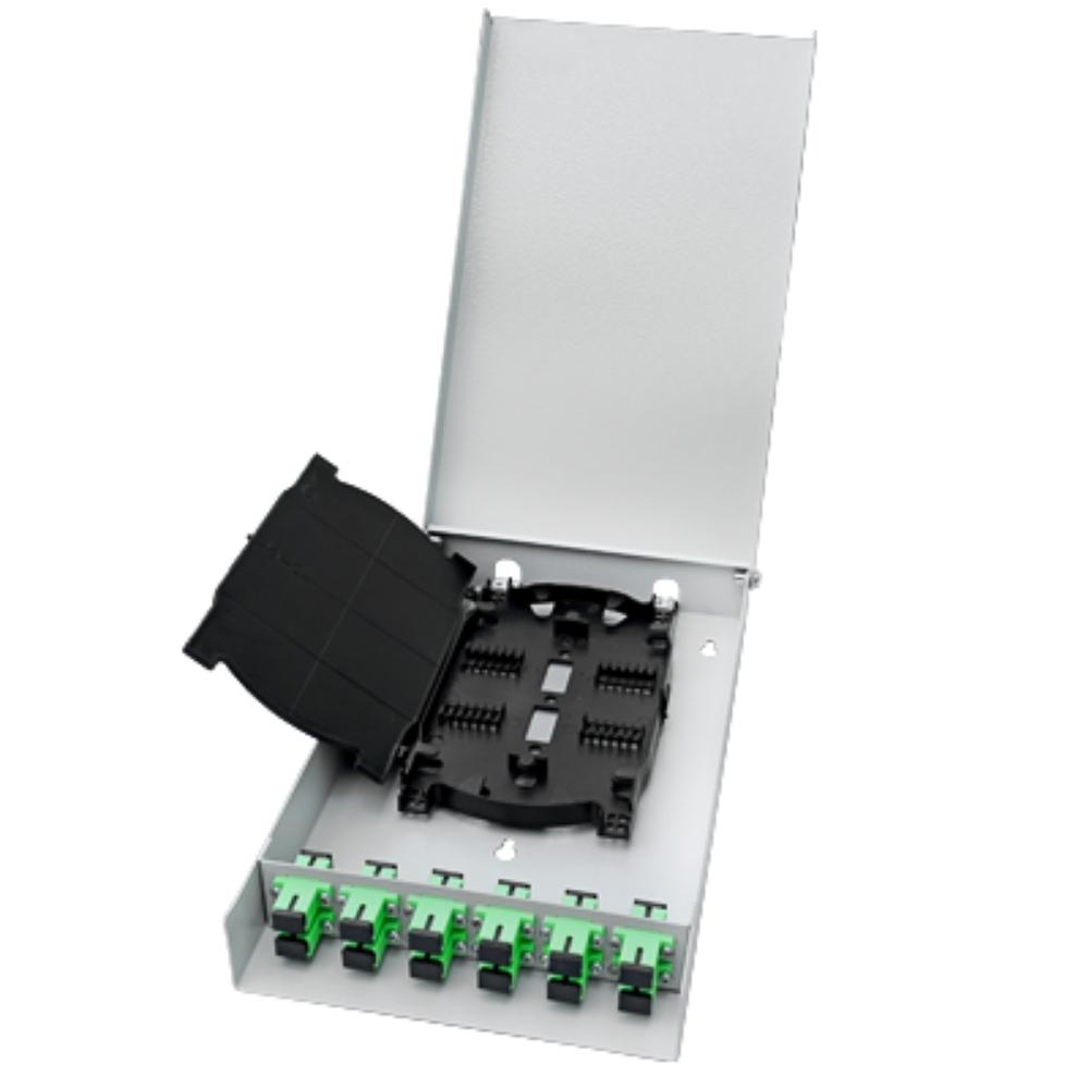 Distribuidor Interno Optico DIO 12 FO SC APC VOLT