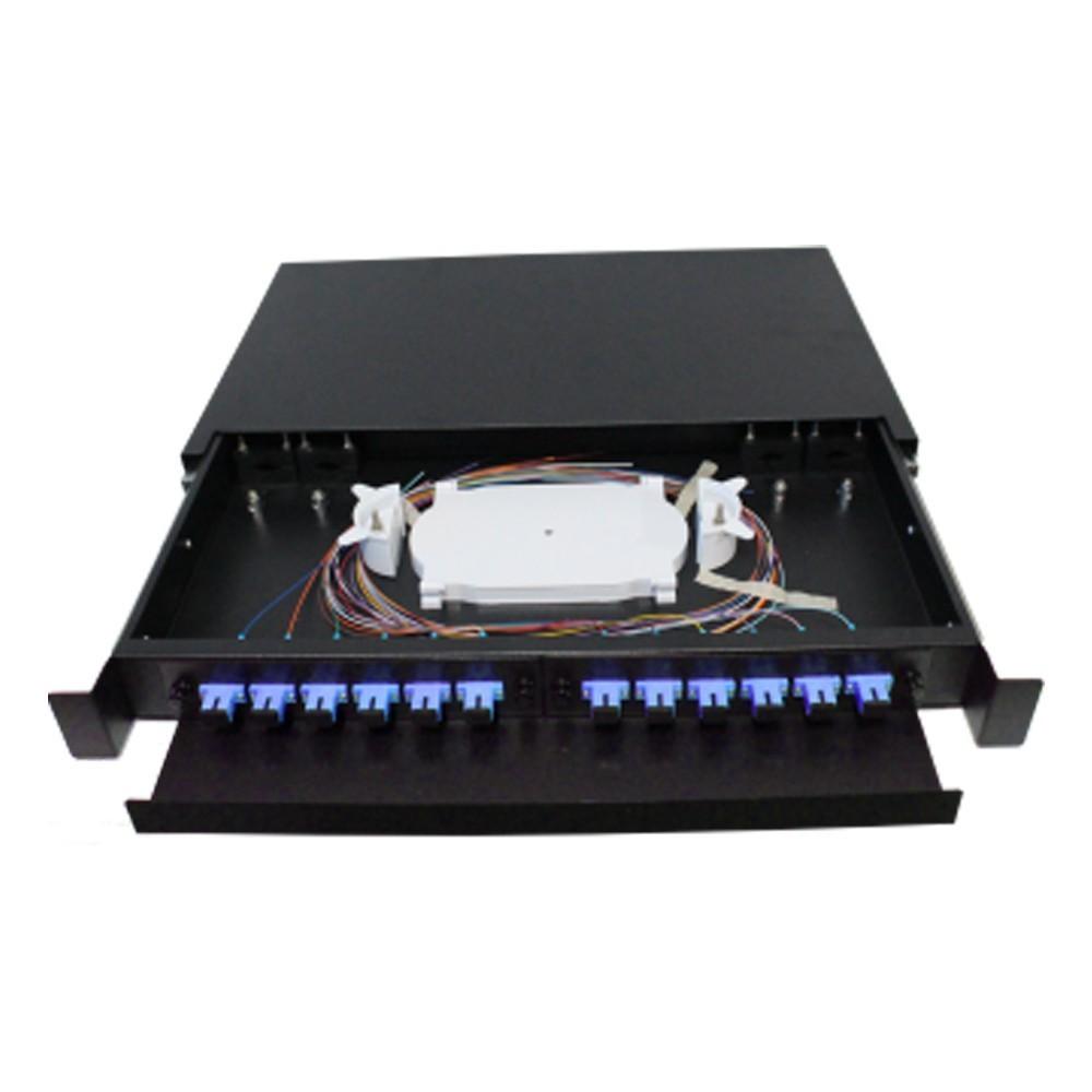Distribuidor Interno Óptico DIO 12FO SC UPC 2FLEX