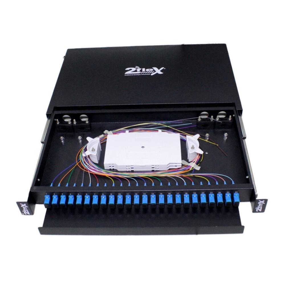 Distribuidor Interno Optico DIO 24 FO SC UPC 2FLEX