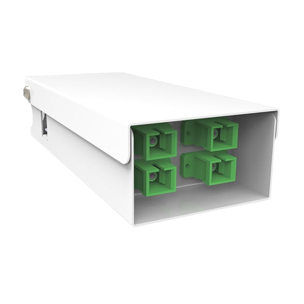 Distribuidor Interno Optico DIO 4 FO SC APC VOLT