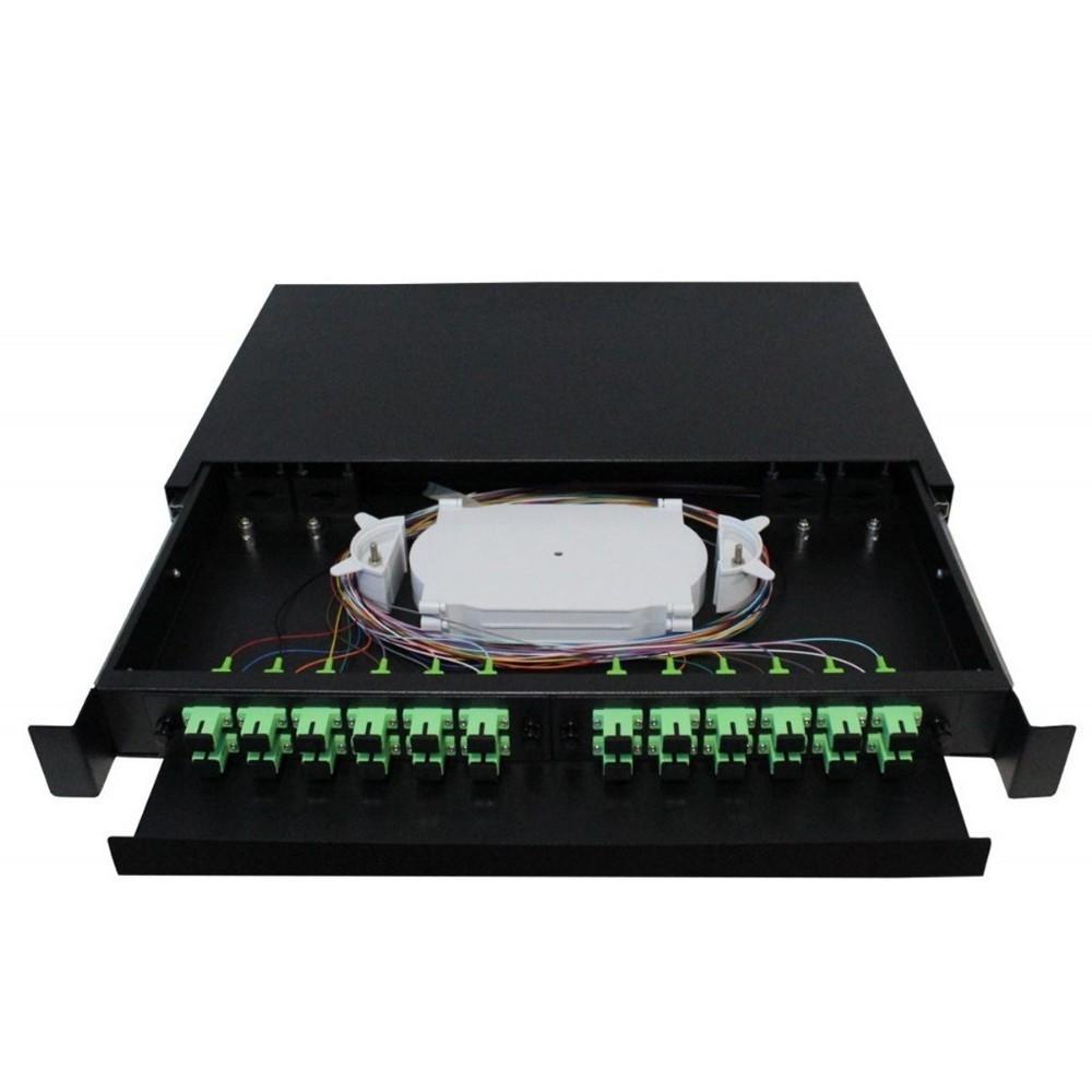 Distribuidor Interno Óptico DIO 24FO SC APC 2FLEX