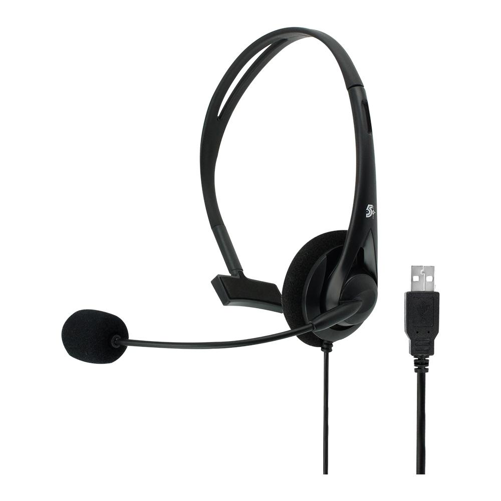 Headset Office Estilo Secretaria Para Telefone USB