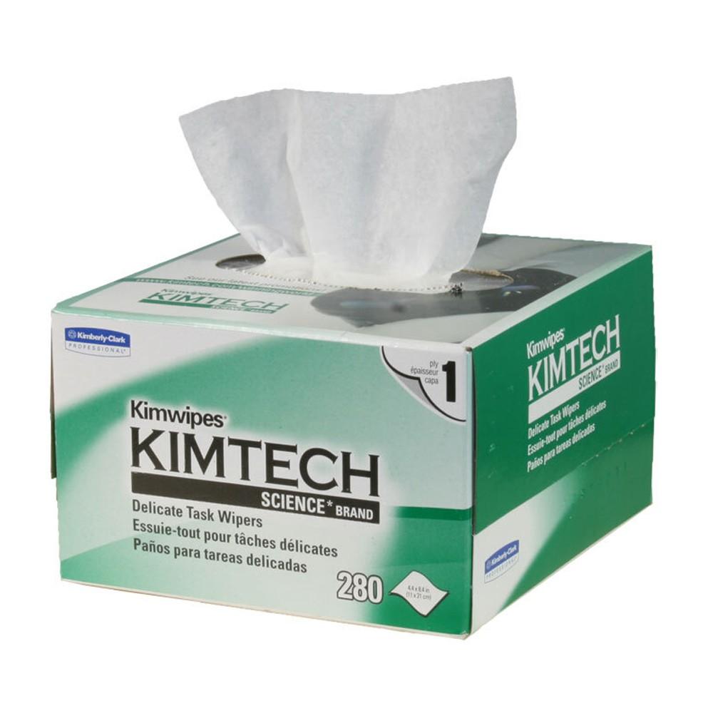 Lenço Anti Estático para Limpeza de Fibra Óptica KIMWIPES KIMTECH