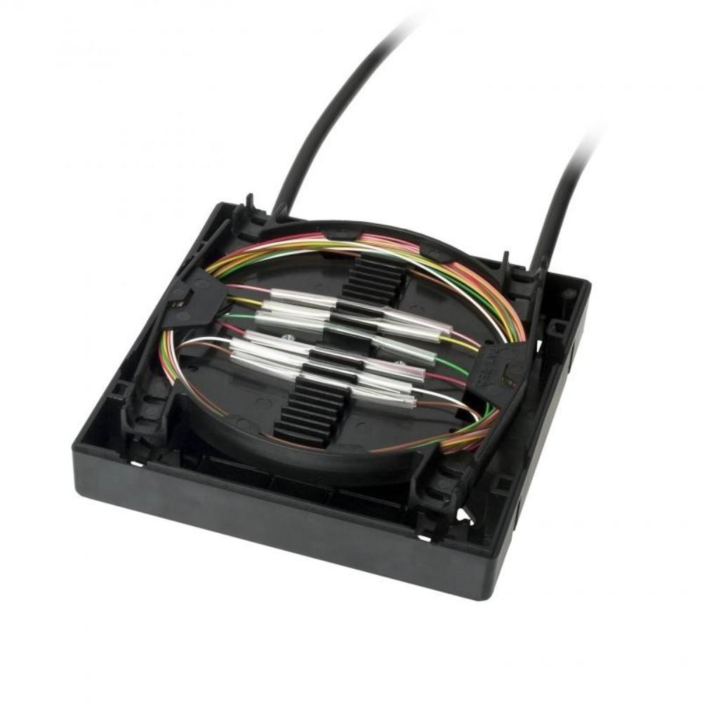 Mini Caixa Distribuidor Interno Óptico(Mini-DIO) 6FO-12FO OPT-BLOCK D-NET