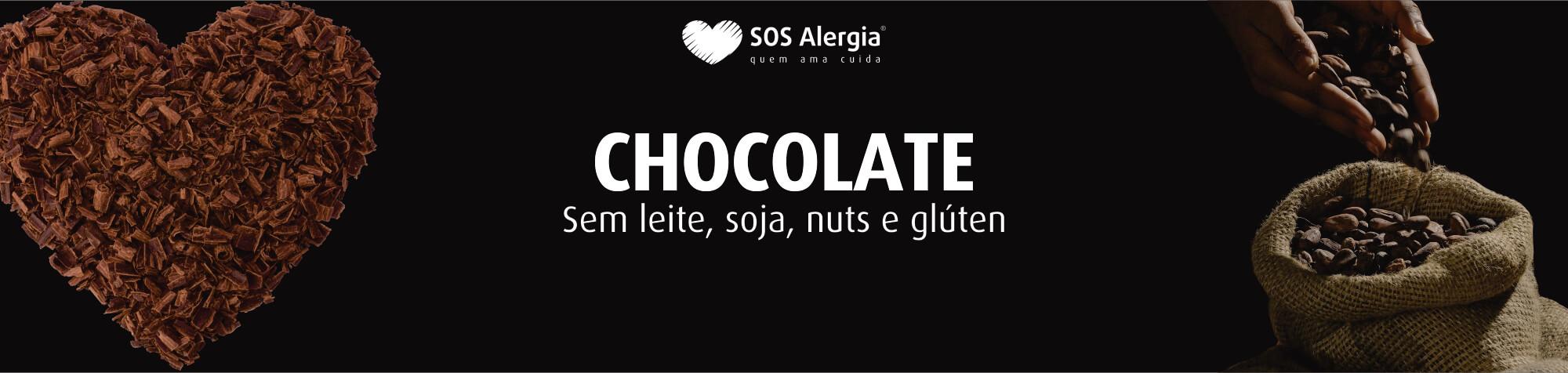 Chocolate sem lactose Moedinha