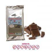 Barra de chocolate Sem leite SOS Alergia 1kg