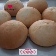 Pão de Hamburguer sem soja 4x80g SOS Alergia
