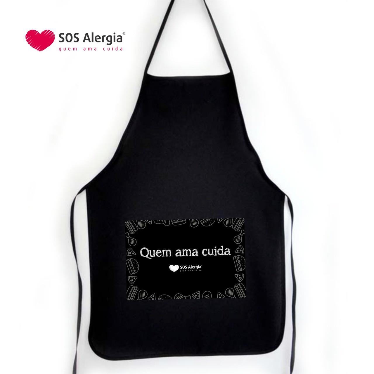 Avental Personalizada SOS Alergia