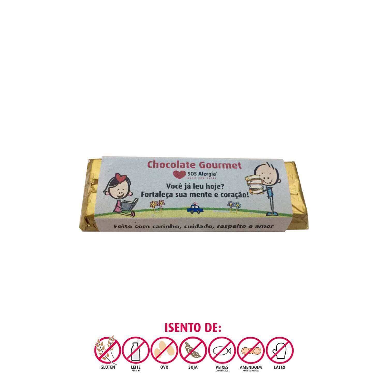 Barrinha de Chocolate Sem Leite SOS Alergia 20g