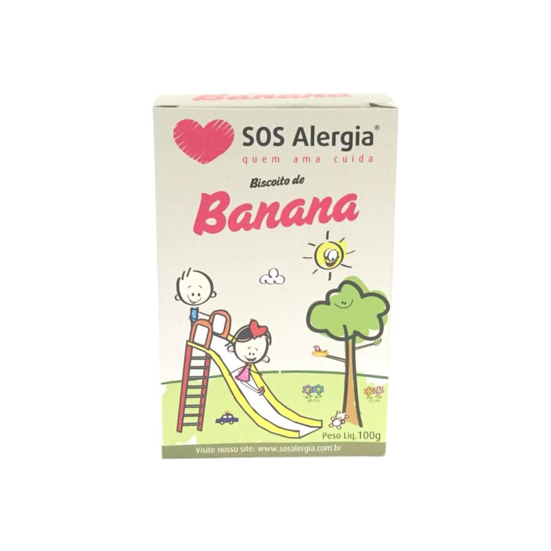 Biscoito de banana SOS Alergia 100g