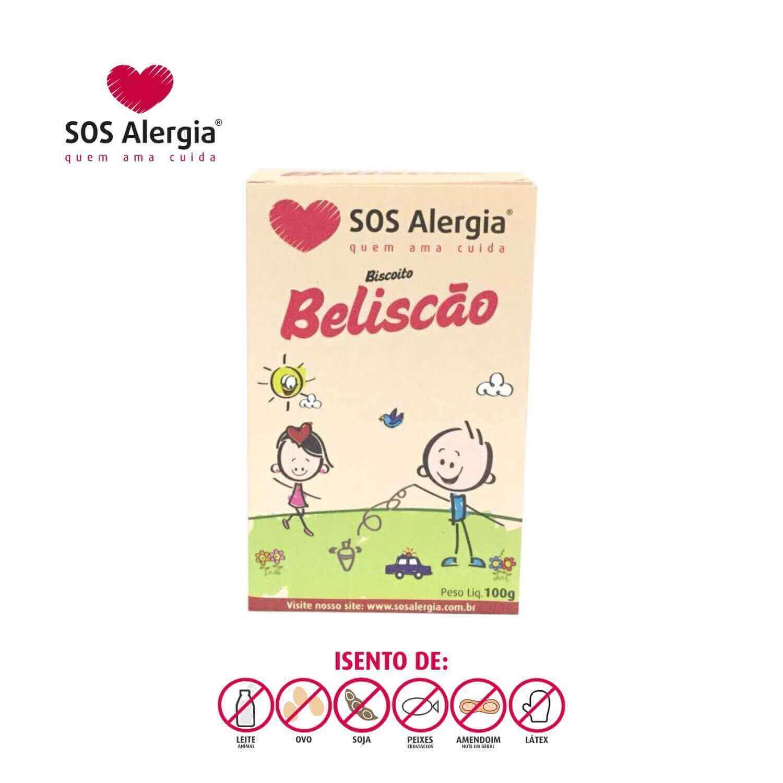 Biscoito SEM SOJA Beliscão SOS Alergia 100g