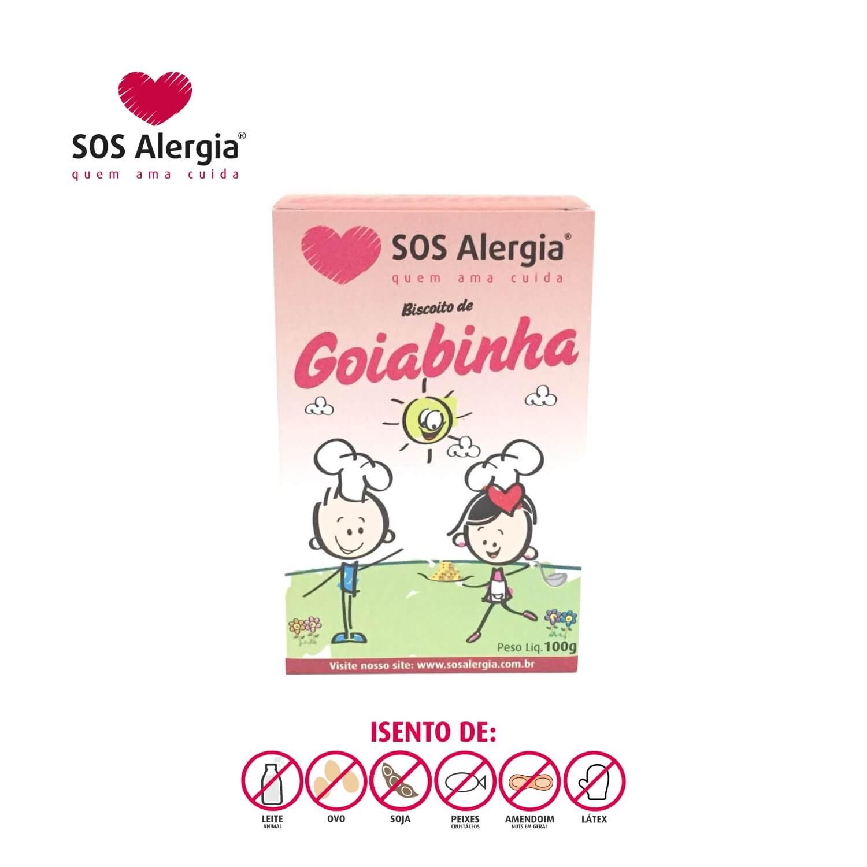 Biscoito SEM SOJA Goiabinha SOS Alergia 100g