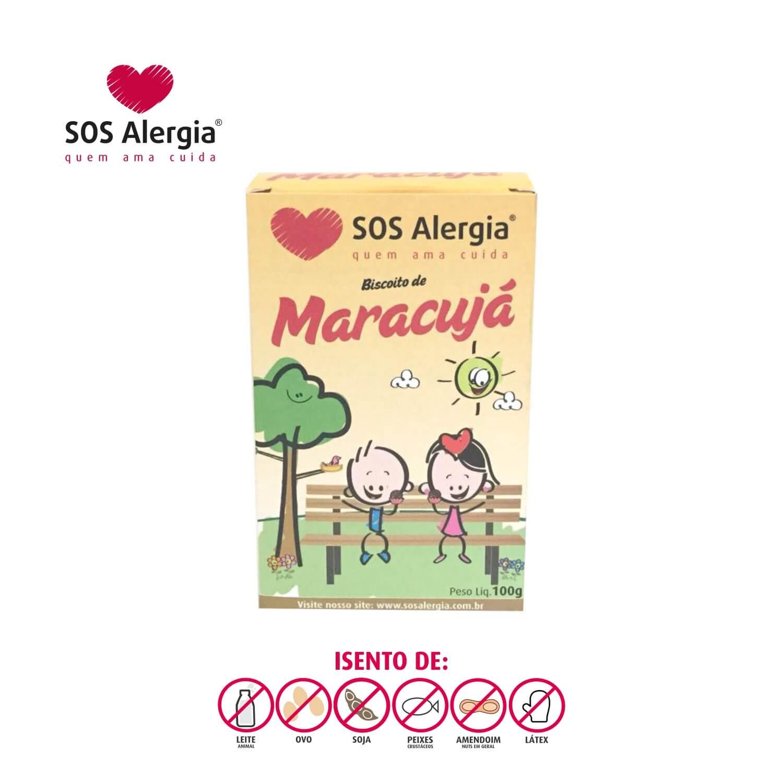 Biscoito de Maracujá SOS Alergia 100g