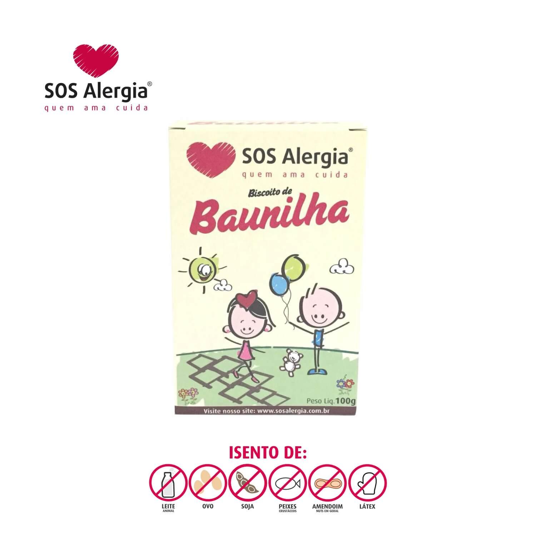 Biscoito SEM SOJA Tradicional SOS Alergia 100g