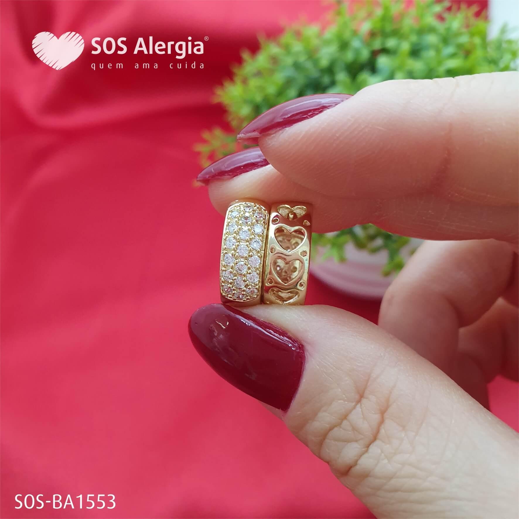 BRINCO SEM NÍQUEL SOS ALERGIA BA1553