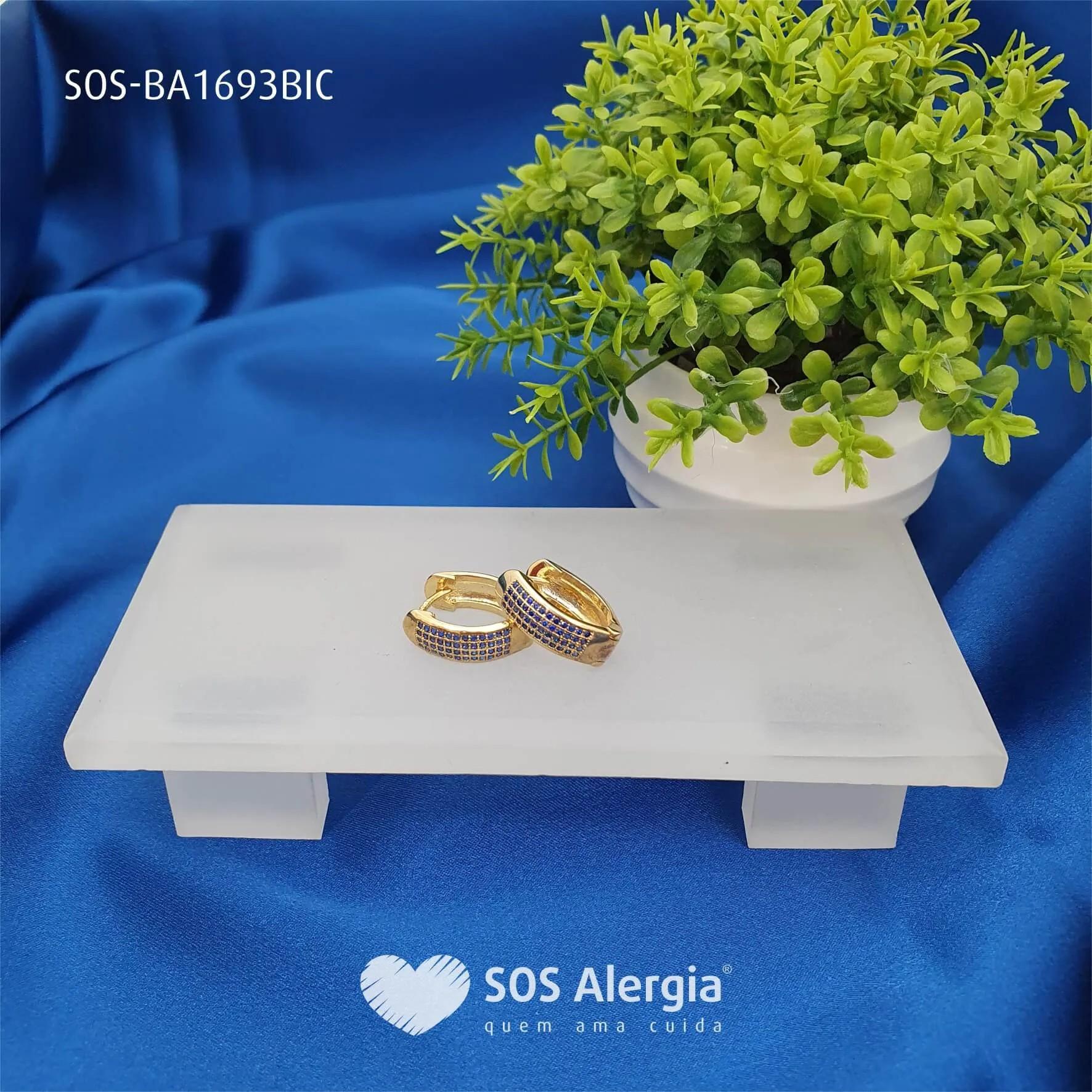 BRINCO SEM NÍQUEL SOS ALERGIA BA1693BIC