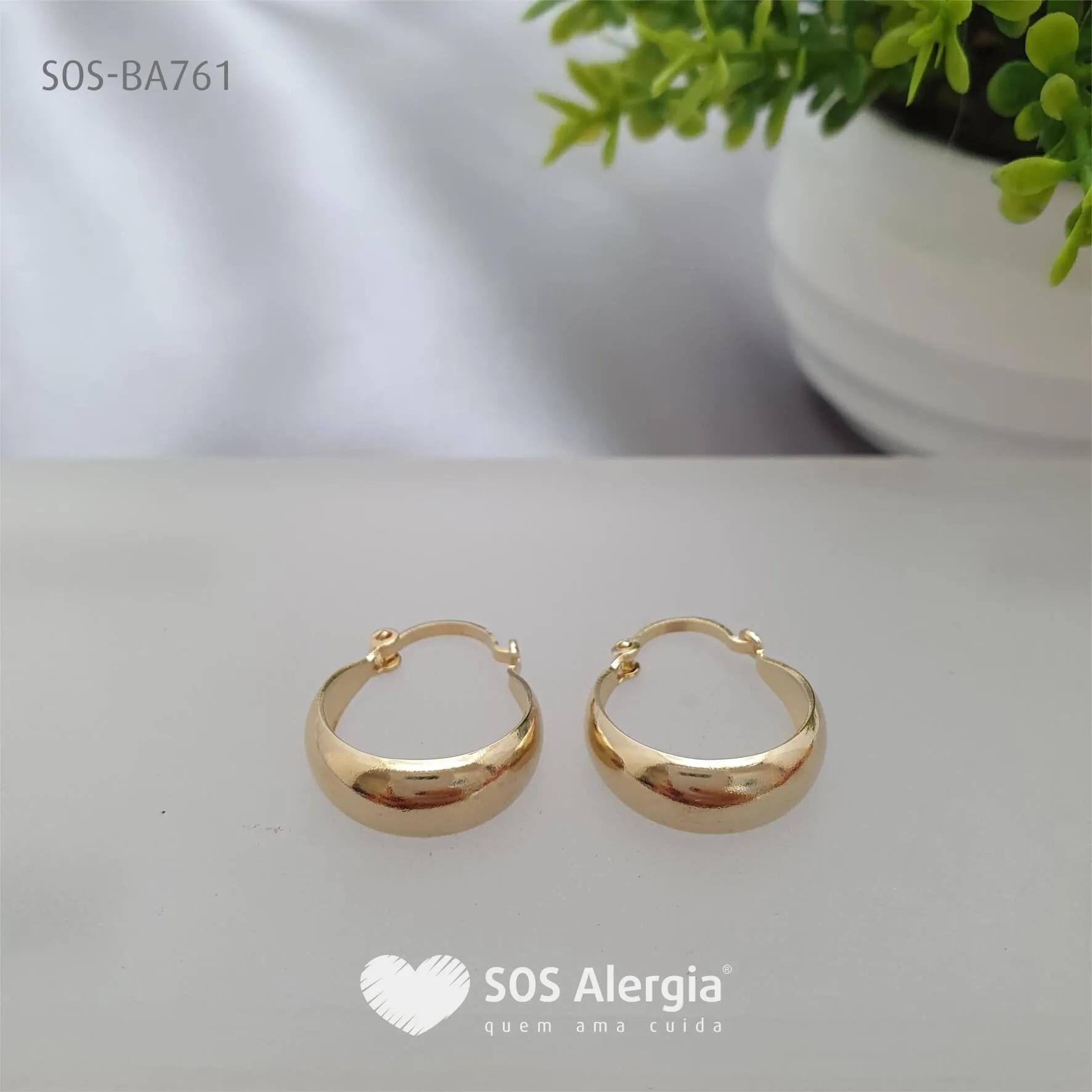 BRINCO SEM NÍQUEL SOS ALERGIA BA761